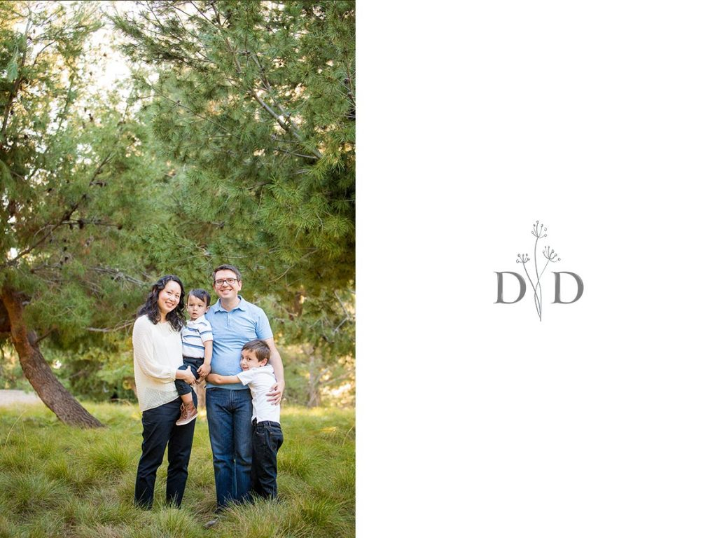 Jeffrey Open Trail Family Photography