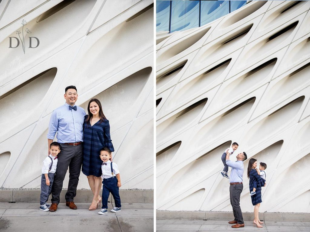 Broad Museum Family Photos