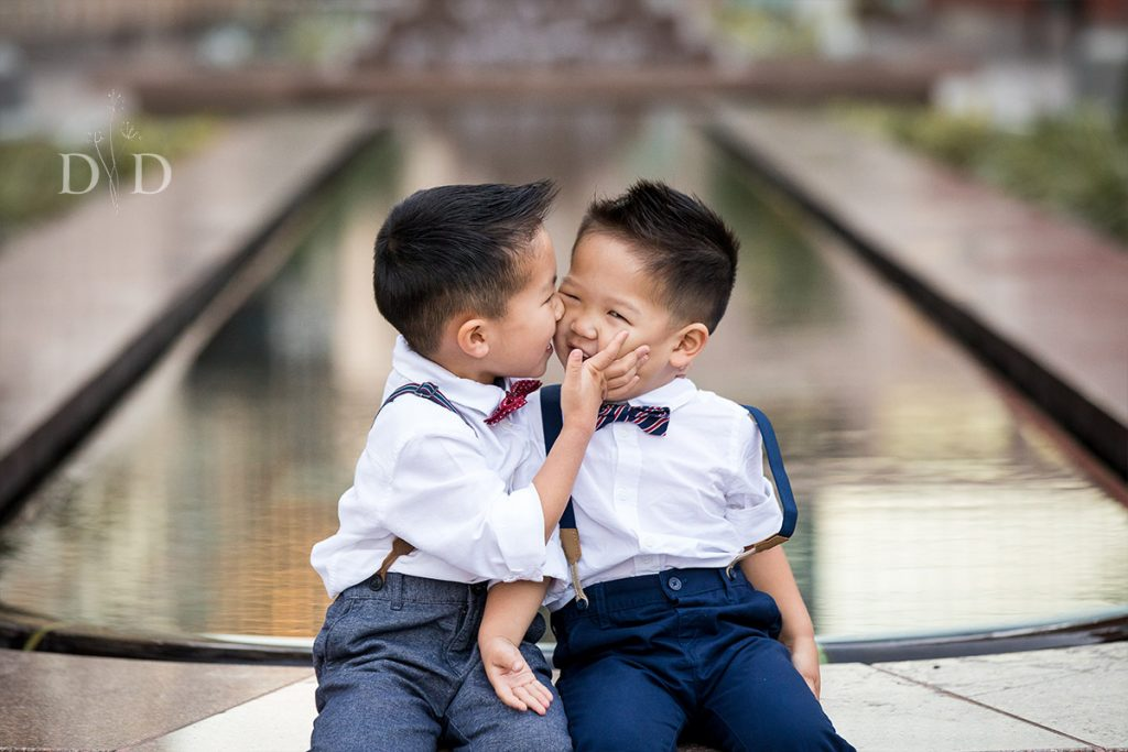 Two Cute Brothers Family Photos