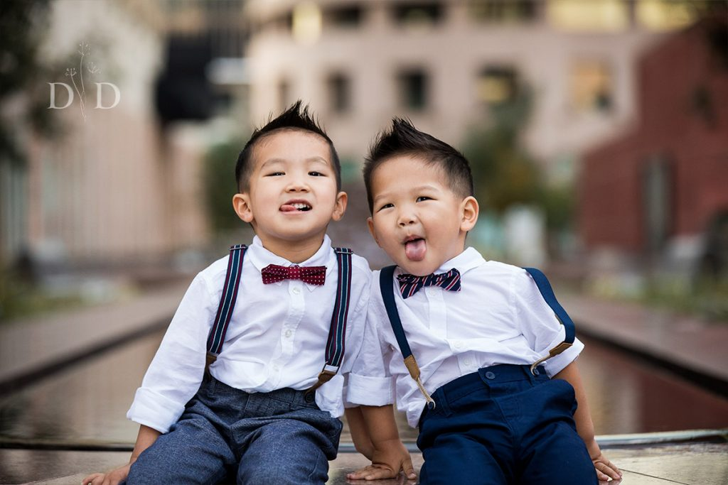 Two Toddler Brothers Family Photography