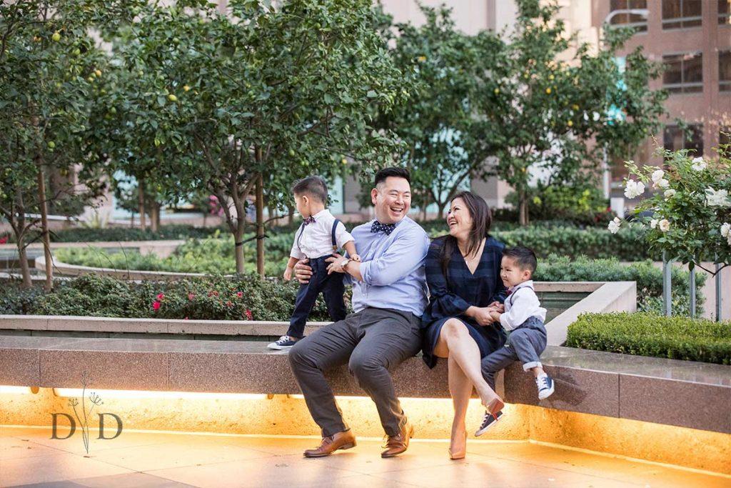 Downtown Family Photos