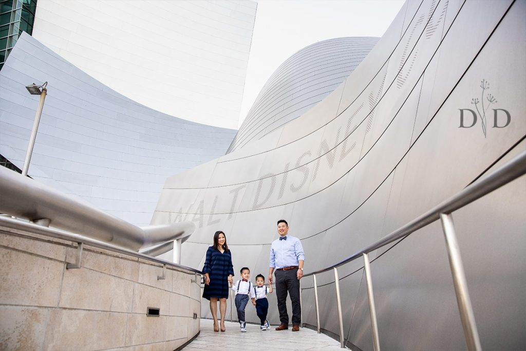 Concert Hall Front Entrance Family Photography