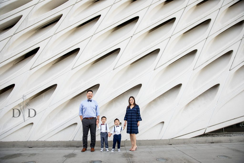 Broad Museum Family Photography
