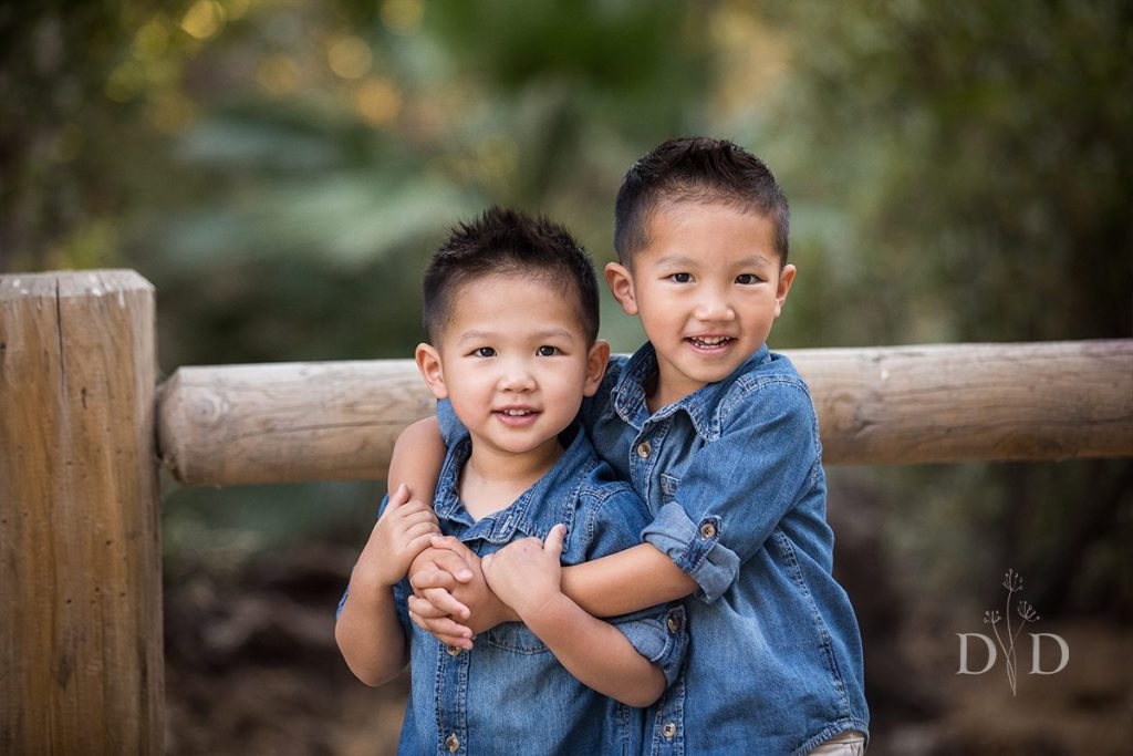 San Dimas Family Photos of Two Sons