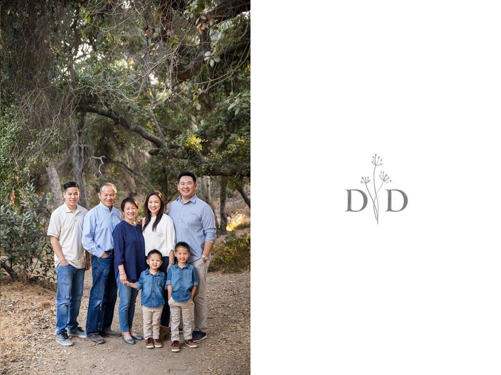 San Dimas Large Family Photos