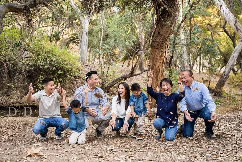 Large Family Photography Los Angeles