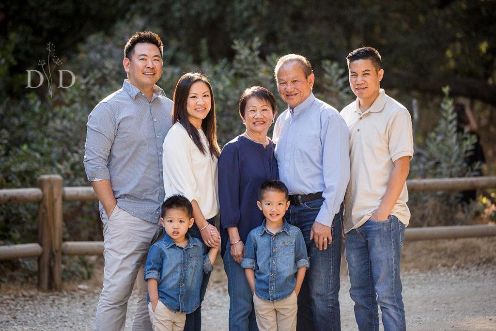 Large Family Photography San Dimas