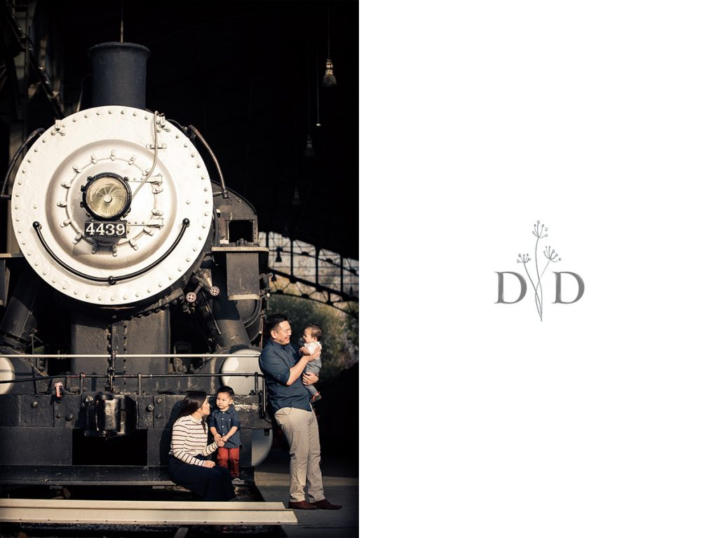 Trains Family Photography