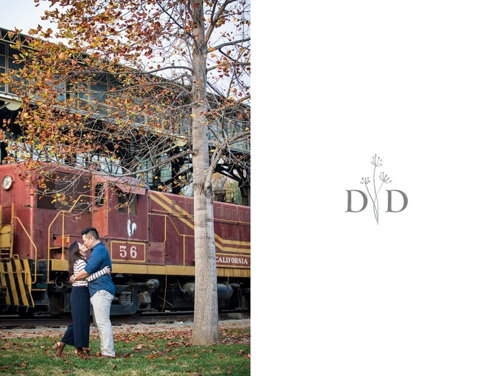 Family Photography Travel Town Trains