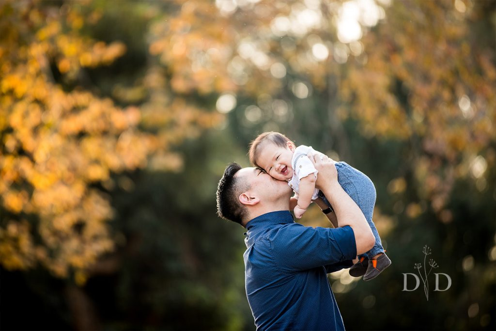 Dad with his Newborn Son Family Photos