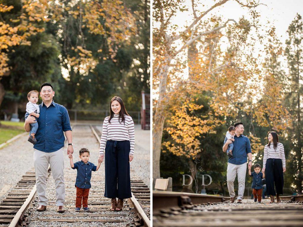 Travel Town Family Photos