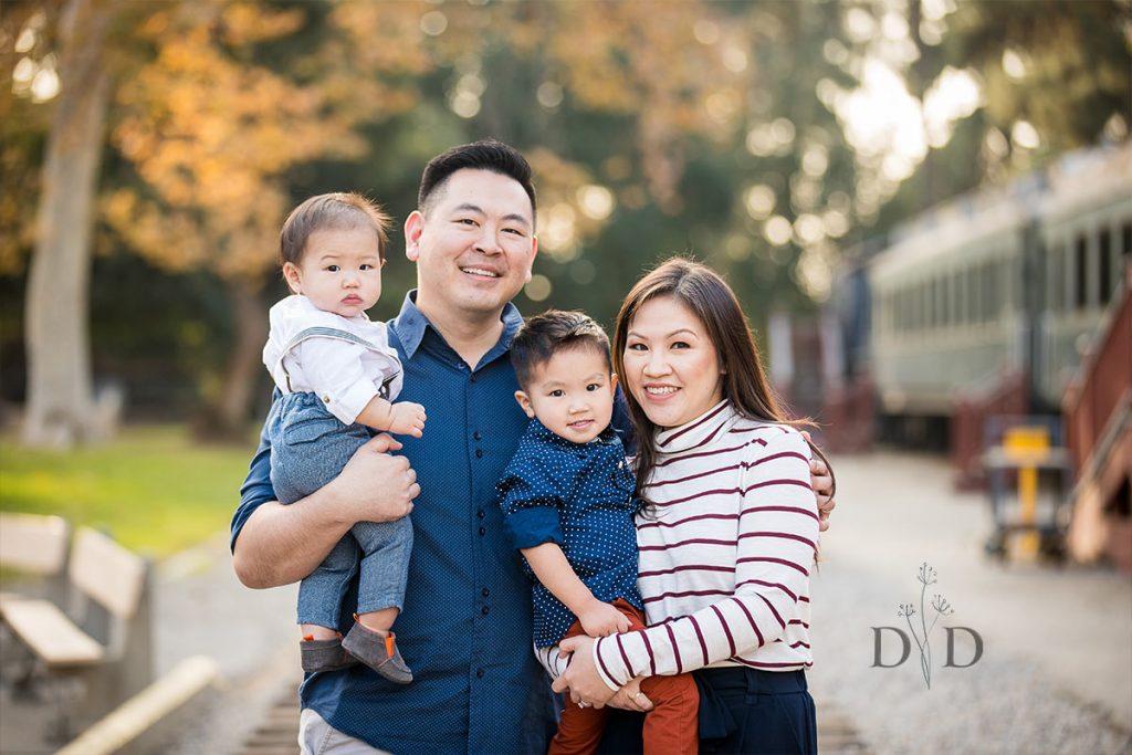 Travel Town Family Portrait