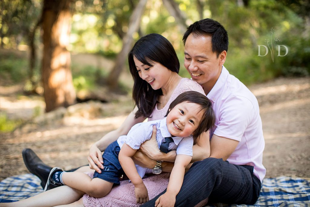 Walnut Creek Park Family Photography