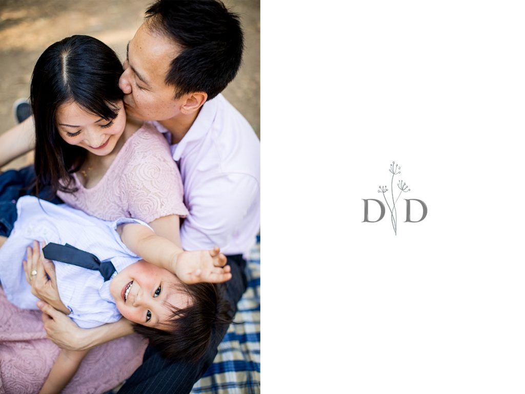 San Dimas Family Photography with Pregnant Mother
